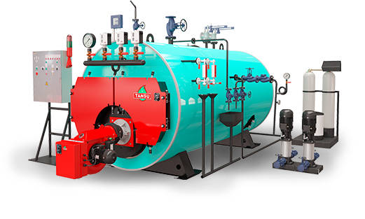 Паровой котел на газообразном/жидком топливе