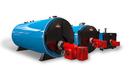 Промышленные водогрейные котлы на жидком и газообразном топливе